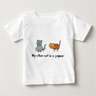 T-shirt Pour Bébé Mon autre chat est Jaguar