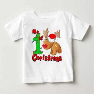 T-shirt Pour Bébé Mon ęr renne de Noël