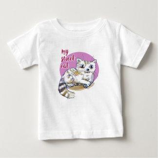 T-shirt Pour Bébé mon illustration douce de style de bande dessinée