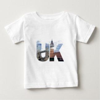 T-shirt Pour Bébé Montage BRITANNIQUE d'alphabet