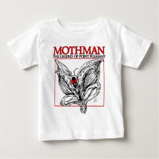 T-shirt Pour Bébé Mothman : La légende du point agréable
