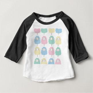 T-shirt Pour Bébé Motif mignon de moutons de bande dessinée