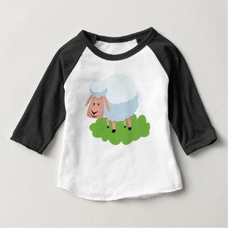 T-shirt Pour Bébé moutons blancs et shaun les moutons