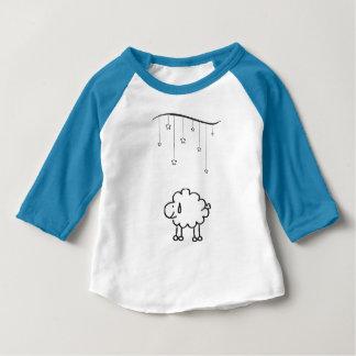 T-shirt Pour Bébé Moutons heureux