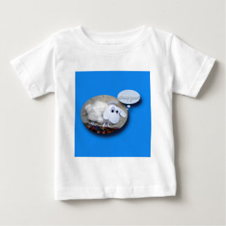T-shirt Pour Bébé Moutons mignons soutenus dans la pièce en t de