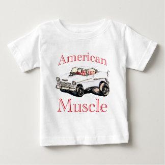 T-shirt Pour Bébé muscle 55 américain chevy