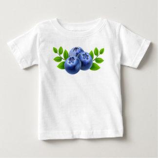 T-shirt Pour Bébé Myrtilles