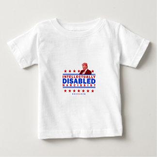 T-shirt Pour Bébé Narcissist intellectuellement handicapé