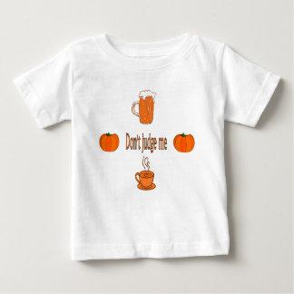 T-shirt Pour Bébé ne me jugez pas