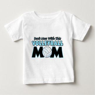 T-shirt Pour Bébé Ne salissez pas avec ce volleyball Mom.png