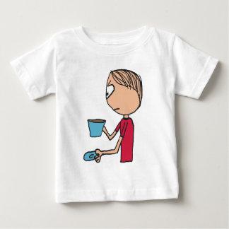T-shirt Pour Bébé Non ma tasse de thé