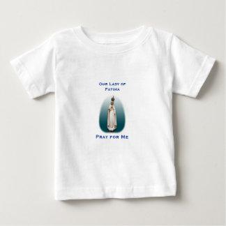 T-shirt Pour Bébé Notre Madame de chemise de bébé de Fatima*