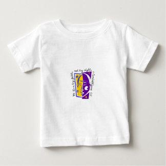 T-shirt Pour Bébé Nous vivons à côté de la foi pas à côté de vue
