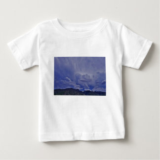 T-shirt Pour Bébé Nuages 1 de rampement