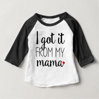 T-shirt Pour Bébé Obtenu le de ma maman