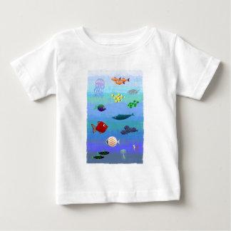 T-shirt Pour Bébé ocean