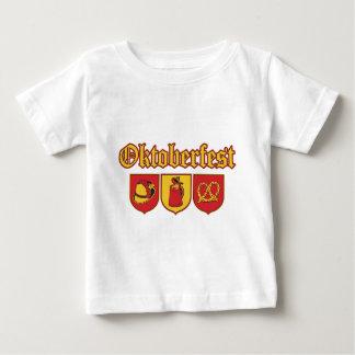 T-shirt Pour Bébé Octoberfestt-Shields-Icons2