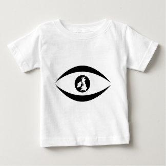 T-shirt Pour Bébé Oeil britannique