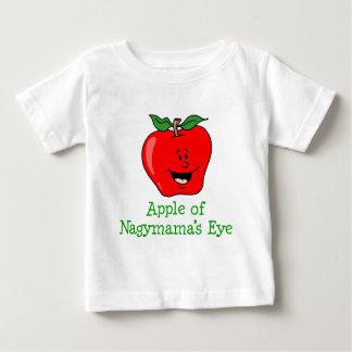 T-shirt Pour Bébé Oeil d'Apple Nagymama