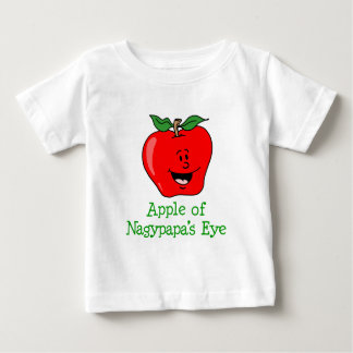 T-shirt Pour Bébé Oeil d'Apple Nagypapa