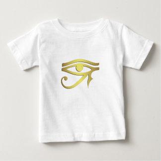T-shirt Pour Bébé Oeil de chemise égyptienne de bébé de symbole de