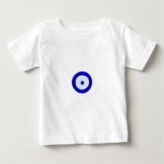 T-shirt Pour Bébé Oeil mauvais bleu
