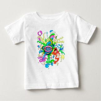 T-shirt Pour Bébé Oeil psychédélique
