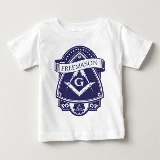 T-shirt Pour Bébé Oeil Tout-voyant d'Illuninati de franc-maçon