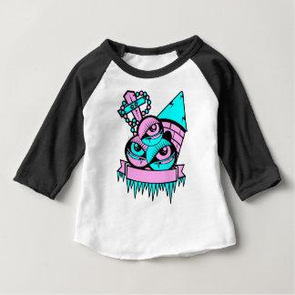 T-shirt Pour Bébé oeil vampire fun