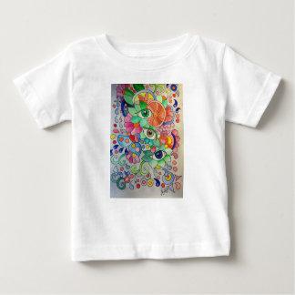 T-shirt Pour Bébé Oeils en couleur