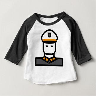 T-shirt Pour Bébé Officier militaire