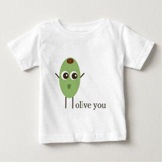 T-shirt Pour Bébé Olive vous