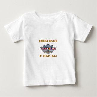 T-shirt Pour Bébé Omaha Beach 6th June 1944