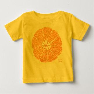 T-shirt Pour Bébé Orange vous heureux…