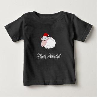 T-shirt Pour Bébé Ouatine Navidad de moutons de bande dessinée