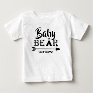T-shirt Pour Bébé Ours de flèche de frère personnalisé