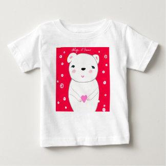 T-shirt Pour Bébé Ours heureux