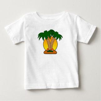 T-shirt Pour Bébé Palmier