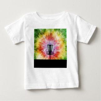 T-shirt Pour Bébé Panier de golf de disque de colorant de cravate