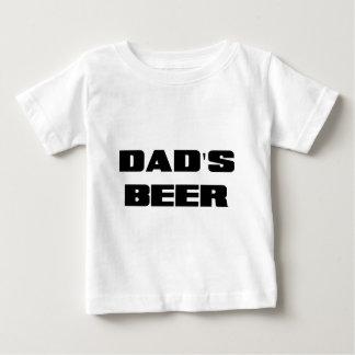 T-shirt Pour Bébé PAPAS BEER.png