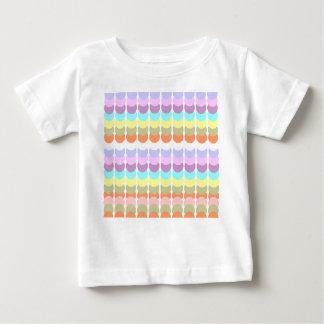 T-shirt Pour Bébé Papercraft coloré : Patchwork de point de poinçon