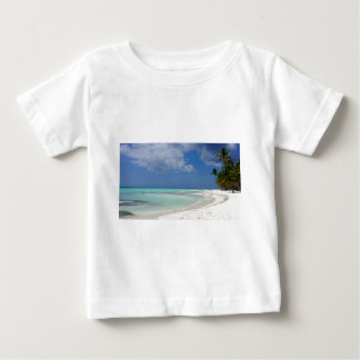 T-shirt Pour Bébé paradis des Caraïbes