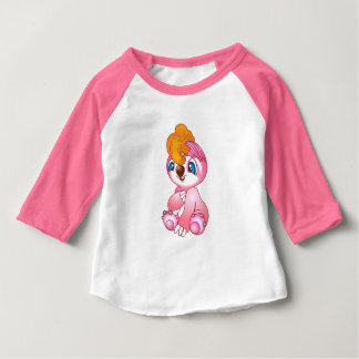 T-shirt Pour Bébé Paresse mignonne de bébé
