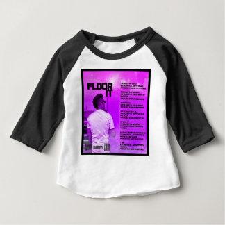 T-shirt Pour Bébé Parquetez-le inverse