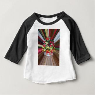 T-shirt Pour Bébé Part quotidienne de Valentine l'amour
