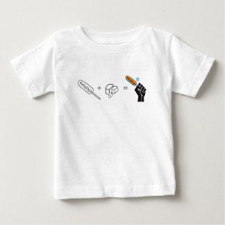 T-shirt Pour Bébé Pas les plus dégelés de la boite humour Québec