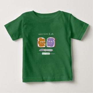 T-shirt Pour Bébé PB de meilleurs amis et J