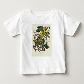 T-shirt Pour Bébé Perroquet de la Caroline - John James Audubon