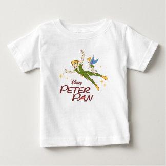 T-shirt Pour Bébé Peter Pan et Tinkerbell