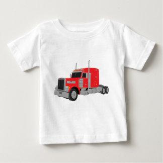 T-shirt Pour Bébé peter rouge a construit le tracteur